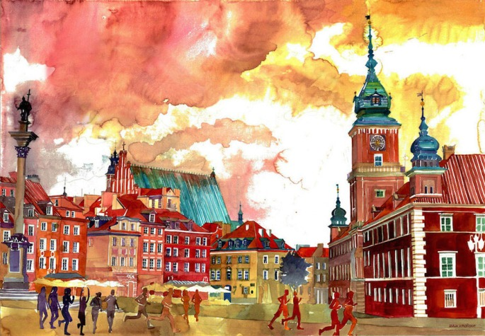 Colorful-Watercolor-Paintings-by-Maja-Wronska-1