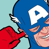 The Secret Life of Heroes. Pop Art Illustrations by Grégoire Guillemin