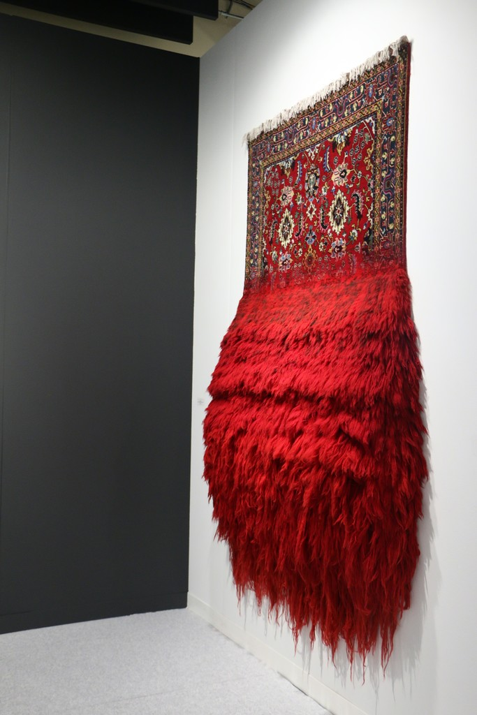 "larger""Carpet vandalist"" and installation artist Faig Ahmed"