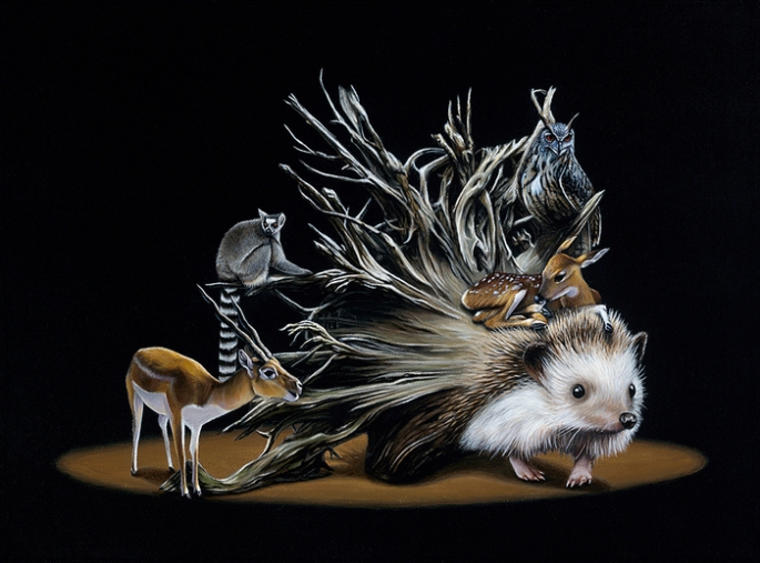 Gorgeous-Surreal-Animal-Paintings-by-Jacub-Gagnon-07