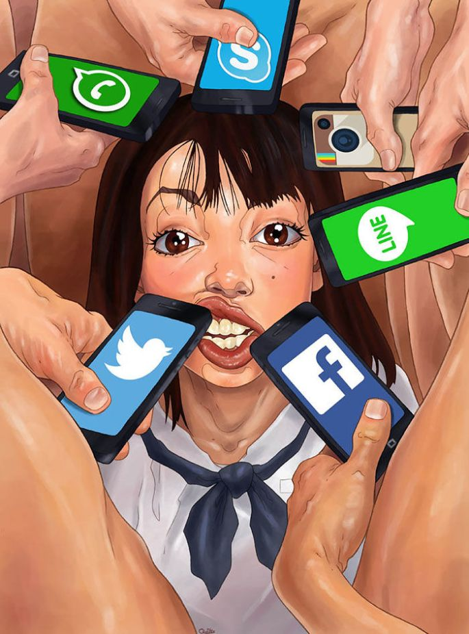 controversial-illustrations-highlights-ugly-society-4