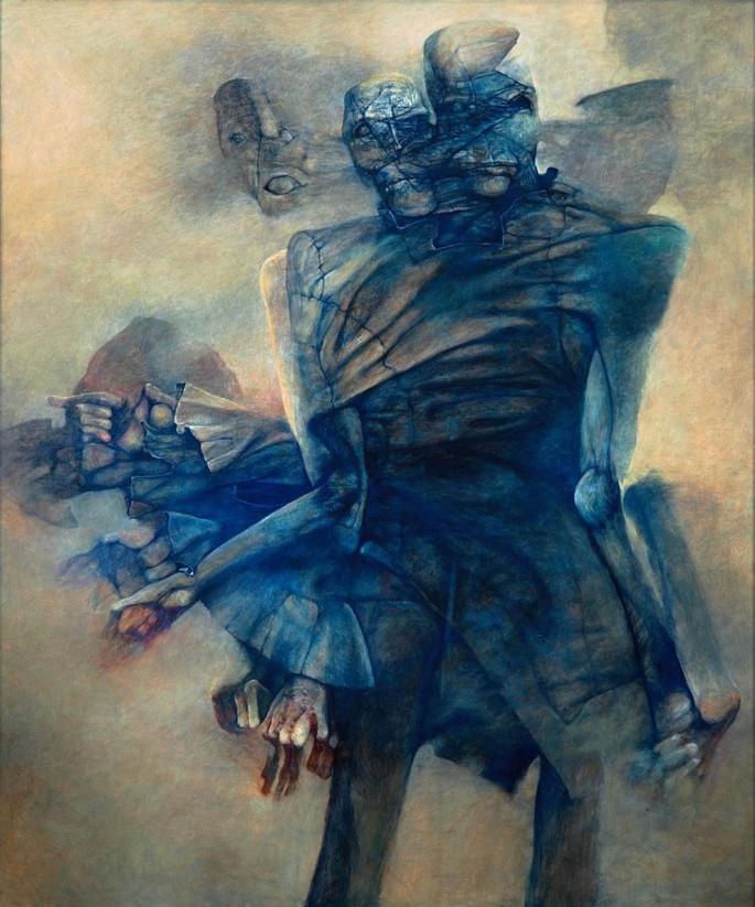 dzislaw-Beksinski--Olej--1989