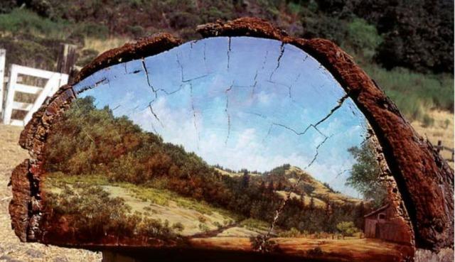 paisajes-naturales-pintados-sobre-troncos-de-madera_11 - Copie