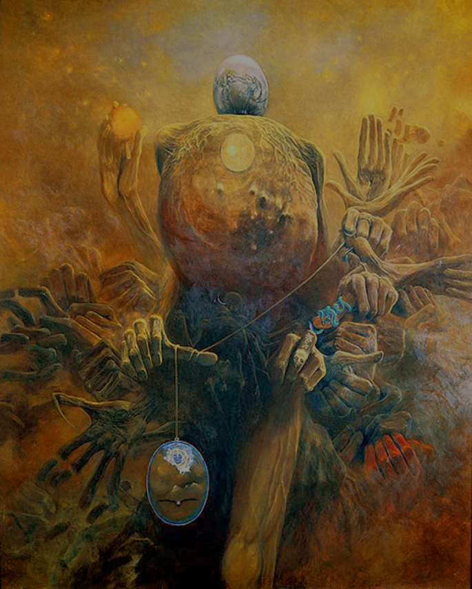 Zdzislaw Beksinski paintings32