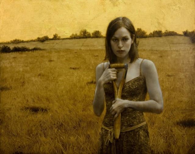 Brad-Kunkle-Paintings-Her-Own-Field - Copie