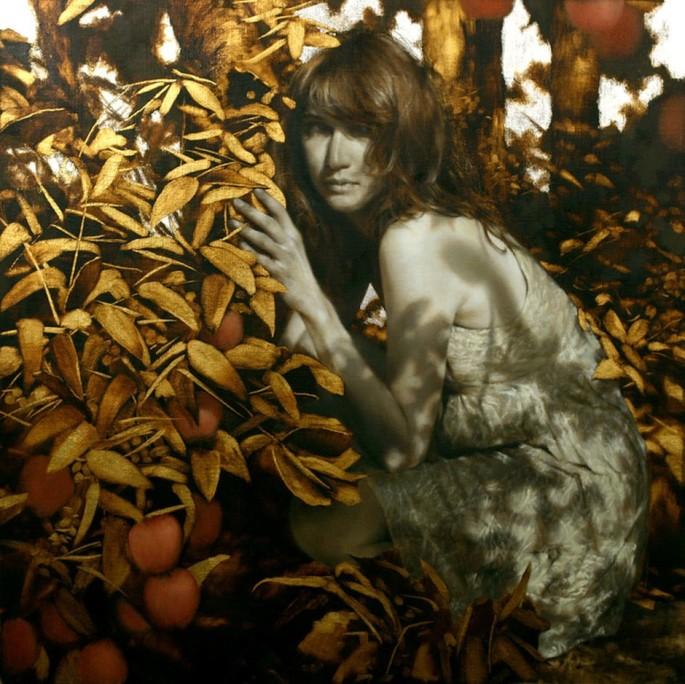 Brad-Kunkle-Paintings-In-Shadows-snakes - Copie