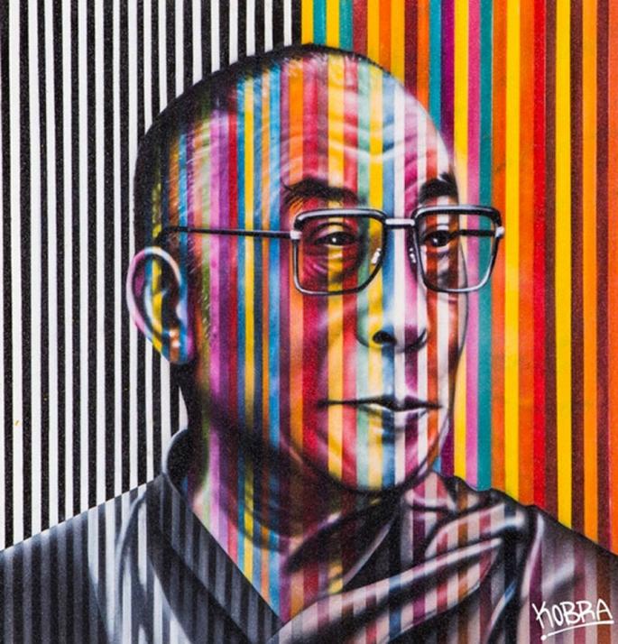 Dalai-Lama-by-Kobra