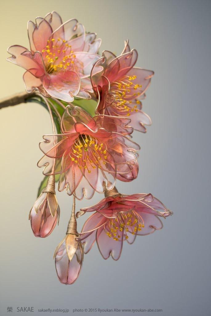 drooping-cherry-blossom-resin-flower