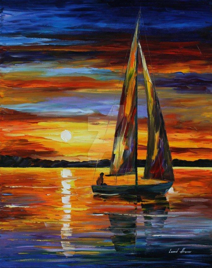 sailing_by_the_shore_by_leonid_afremov_by_leonidafremov-d4rhucw