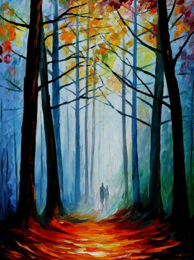 wise_forest_by_leonid_afremov_by_leonidafremov-d60apa1