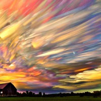 Timelapse Photographs of Landscapes that Look Like Paintings, by Matt Molloy