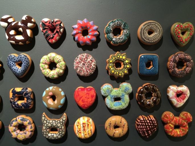 """""""Donut Rush"""" Jae Yong Kim's Cceramic Donut Installation.jpg"""